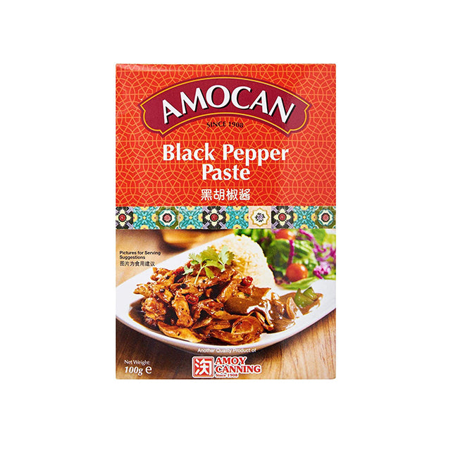 Amocan Black Pepper Paste 100g