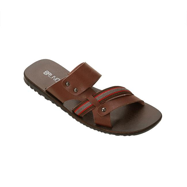 Bruno Co. Charles Leather Men's Sandal - Brown