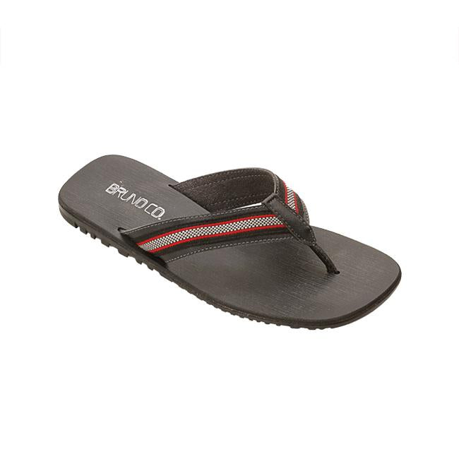 Bruno Co. Paul Leather Men's Sandal - Black