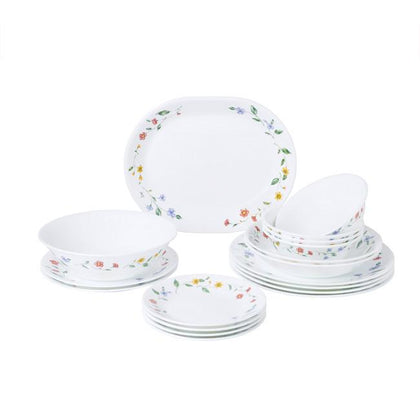 Corelle 18pc Dinner Set - Purun Flower