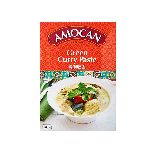 Amocan Green Curry Paste 100g