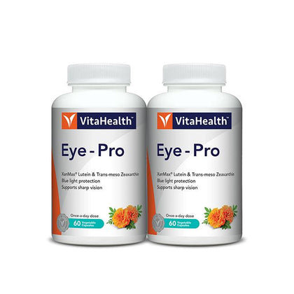 VitaHealth Eye-Pro 2x60 Vegetable Capsules