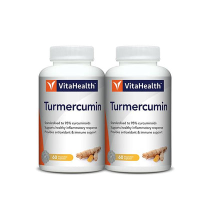VitaHealth Turmercumin 2x60 Vegetable Capsules
