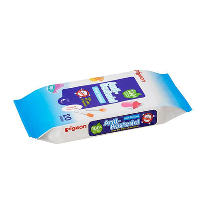Pigeon Anti-Bacterial Wet Tissue, 20S Single Pack