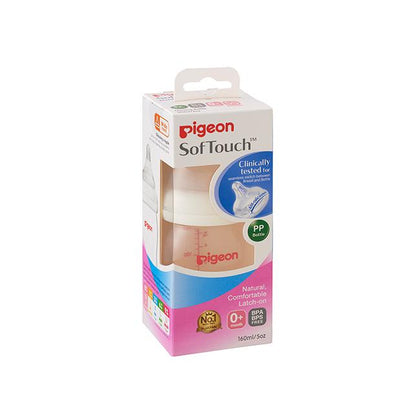 Pigeon Softouch Peristaltic Plus Pp 160ml (SS)