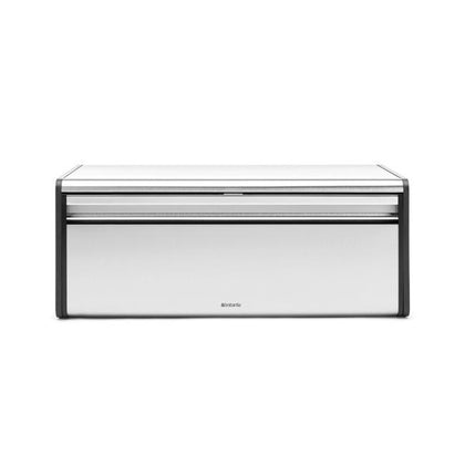 Brabantia Bread Bin Fall Front-FPP Matt Steel