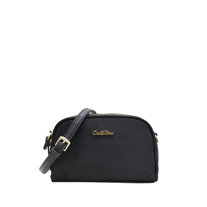 Carlo Rino Crossbody - Black