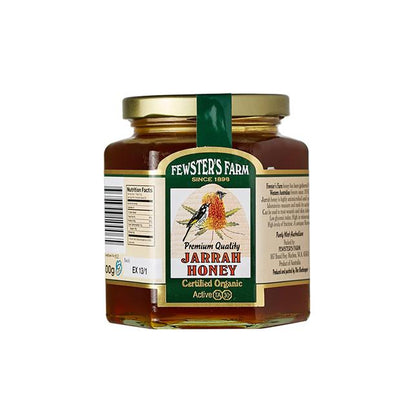 Fewster's Farm Jarrah Honey 30+ 500g