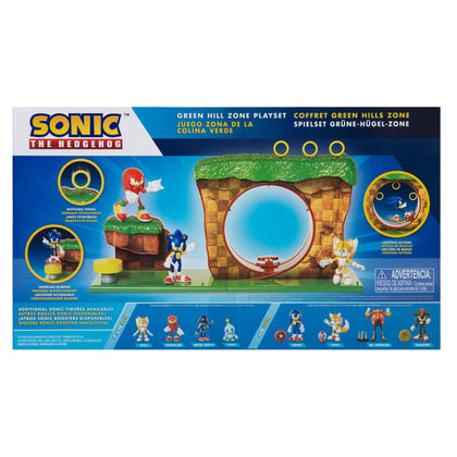 Sonic The Hedgehog Green Hill Zone Play Set