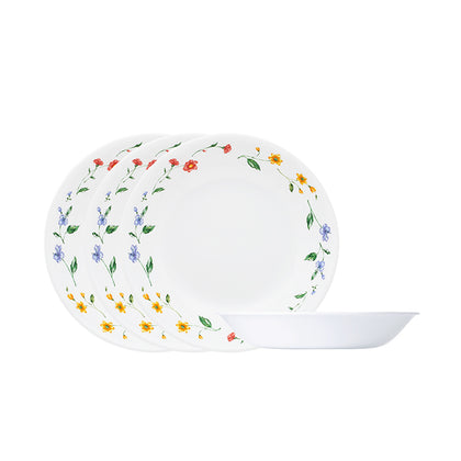 Corelle 4-pc 21cm Soup Plate Set - Purun Flower