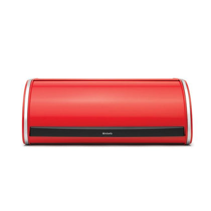 Brabantia Bread Bin Roll Top-Passionate Red