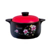 La Gourmet 4L Ceramic Claypot Induction-Friendly - Red