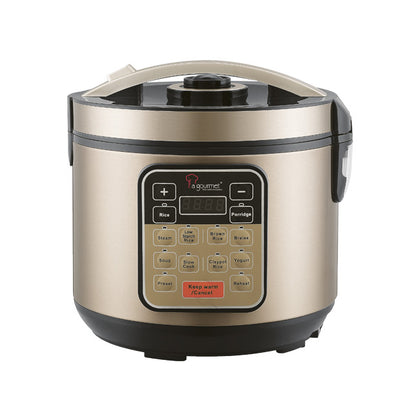 La Gourmet 4L Healthy Rice Cooker + Free Trudeau Garlic Slicer