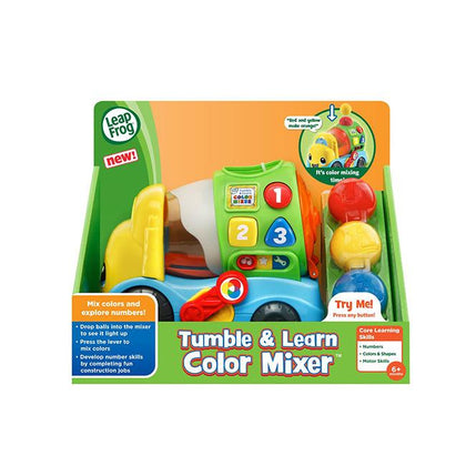 LeapFrog Tumble & Learn Color Mixer Truck