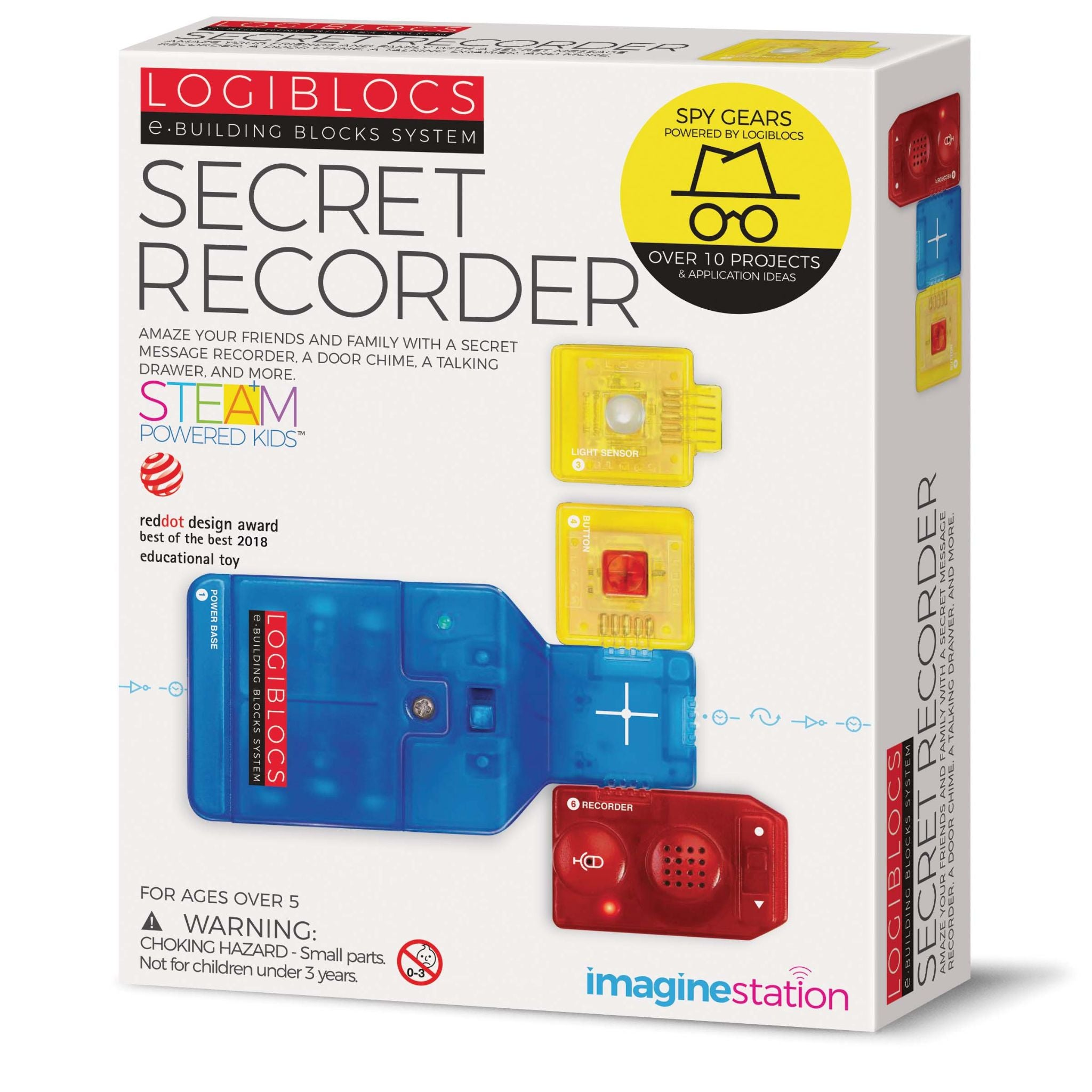 Logiblocs Imagine Station - Secret Recorder