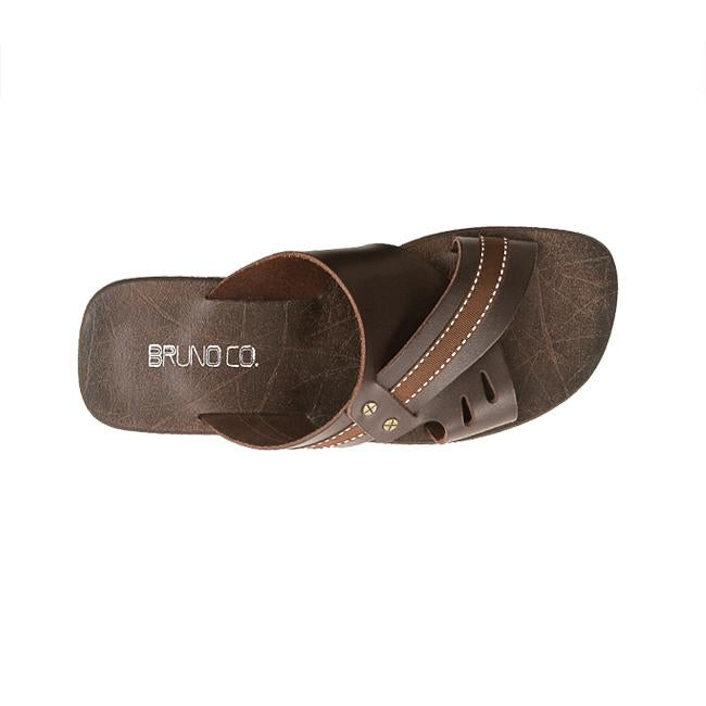 Bruno Co. Thomas Leather Men's Sandal - Brown