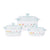 Corningware 6-pc Casserole Set - Purun Flower