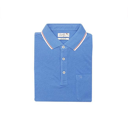 Arnold Palmer Short-Sleeved Polo Shirt - Blue