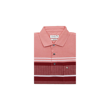 Arnold Palmer Short-sleeved Polo - Coral