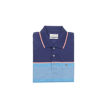 Arnold Palmer Short-sleeved Polo - Blue