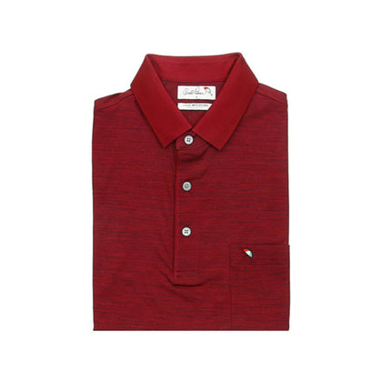 Arnold Palmer Short-sleeved Polo - Maroon