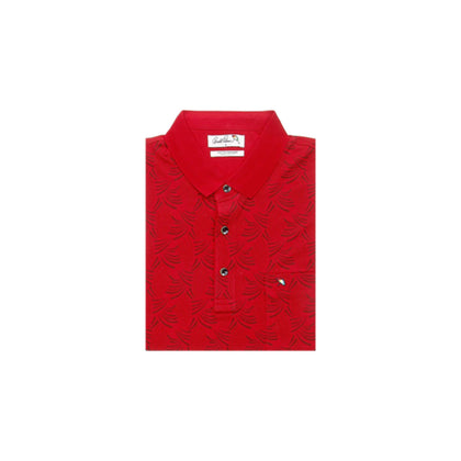 Arnold Palmer Short-sleeved Polo - Red