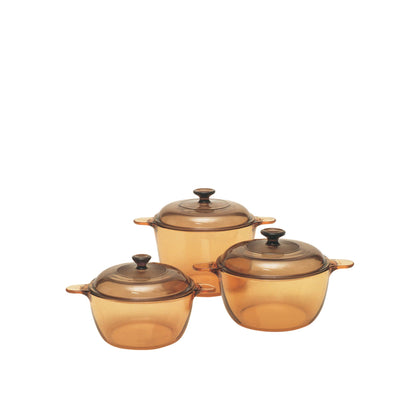 Visions 6pc Cookpot Set - Amber