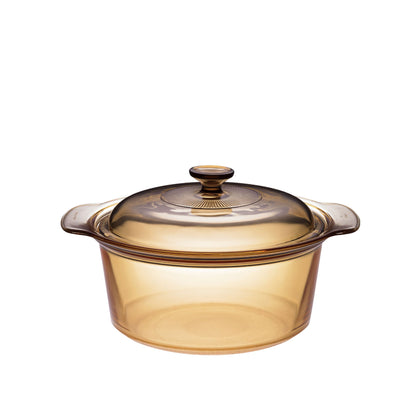 Visions 3.5L Covered Stockpot - Amber