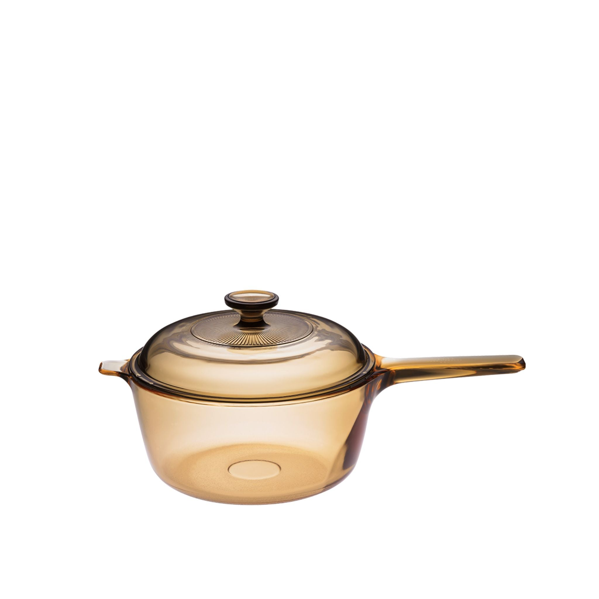 Visions 2L Covered Saucepan - Amber