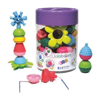 Lalaboom 48-pc Beads and Accessories Set