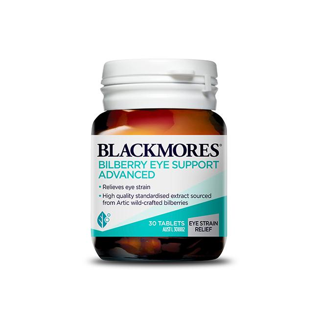 Blackmores Bilberry Eye Support Advanced 30s
