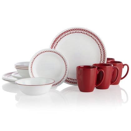 Corelle 16pc Dinner Set - Cordoba