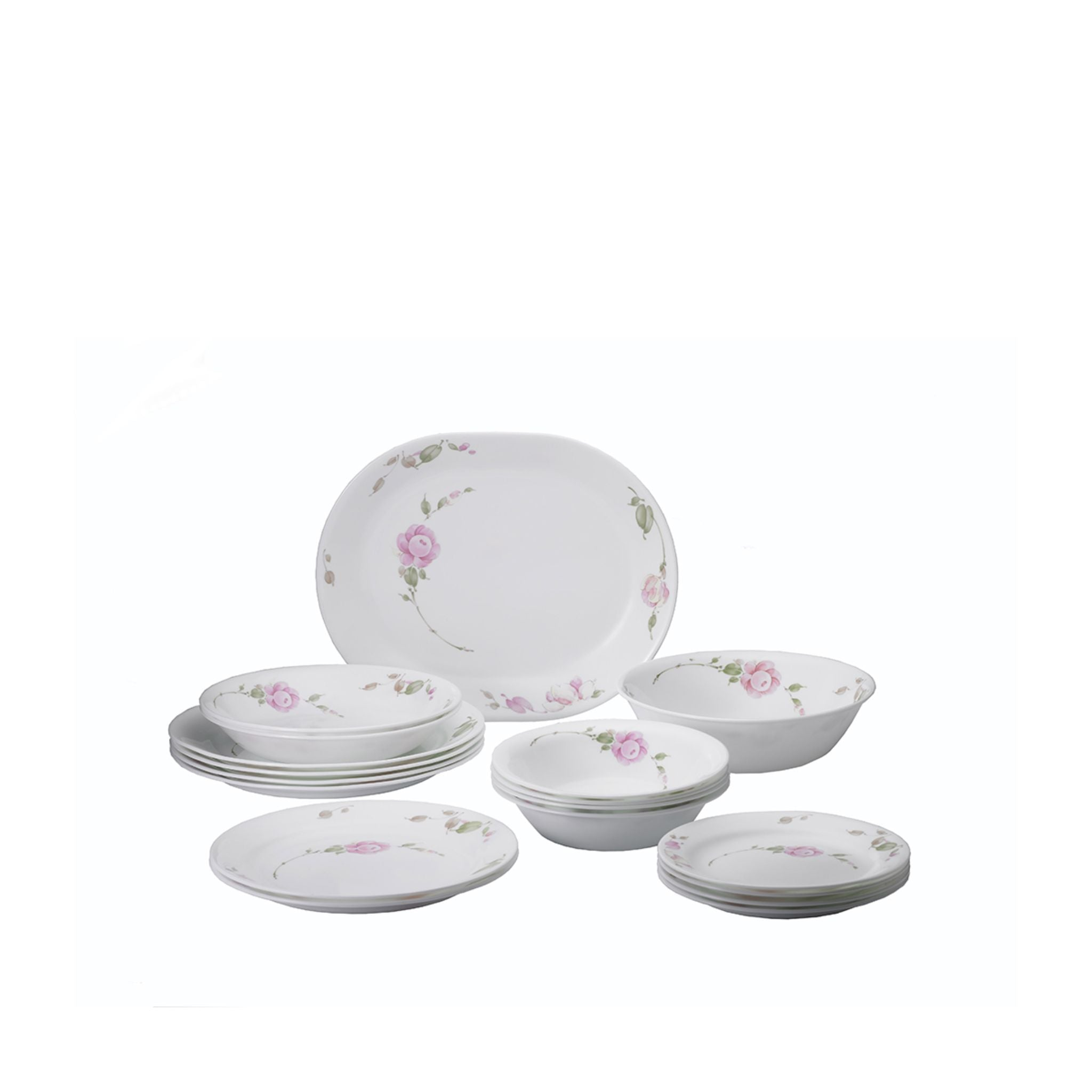 Corelle 18pc Dinner Set - Country Rose