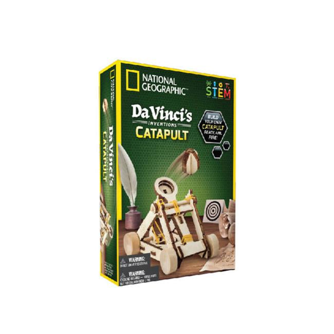 National Geographic Da Vinci's Inventions Catapult