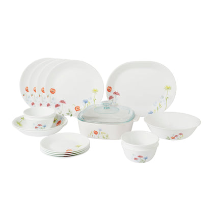 Corelle & CorningWare Cook & Serve Set - Daisy Field