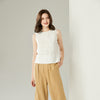 JA.SOCHA Delicate Pearled Sleeveless Top