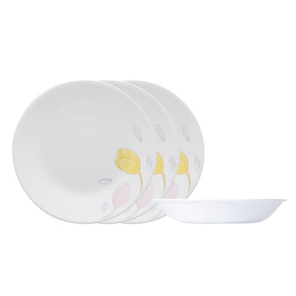 Corelle 4pc 21cm Soup Plate Set - Elegance