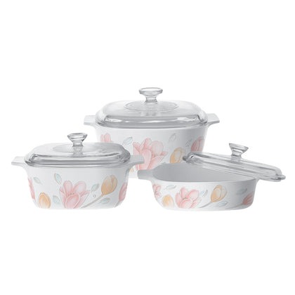 Corningware 6pc Casserole Set - Elegant City