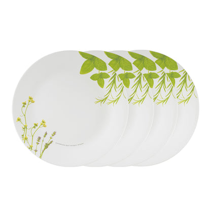 Corelle 4pc 26cm Dinner Plate Set - European Herbs