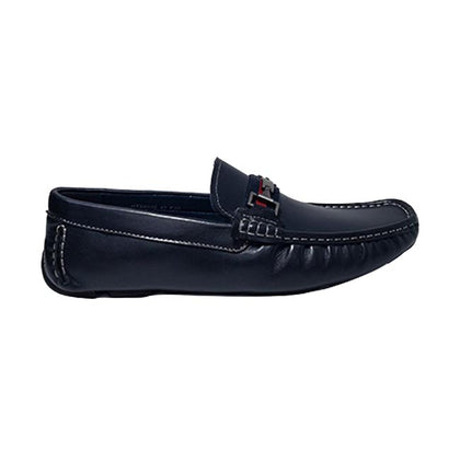 Everbest Leather Shoes - Navy
