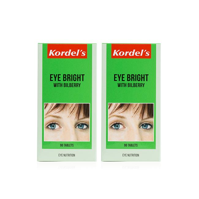 Kordel's Eye Bright Twin Pack T90 X 2