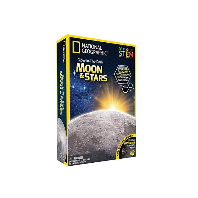 National Geographic Glow in the Dark3D Moon and Stars