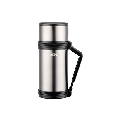 Thermos 0.7L Stainless Steel Vacuum Insulation Beverage Bottle - Clear Stainless