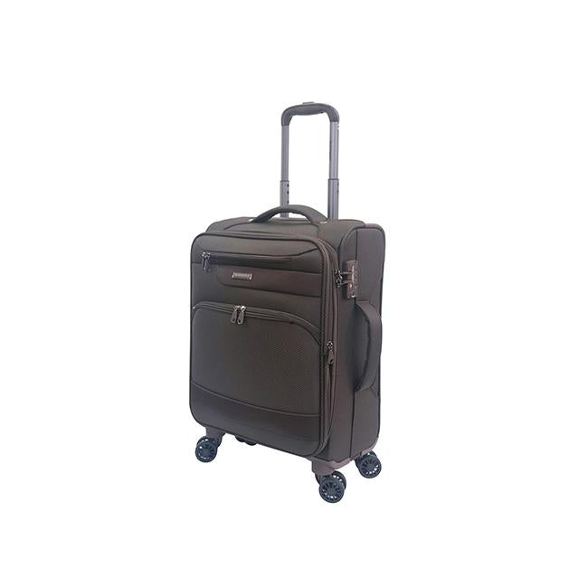 "Hush Puppies 20"" Softcase Luggage - Brown"