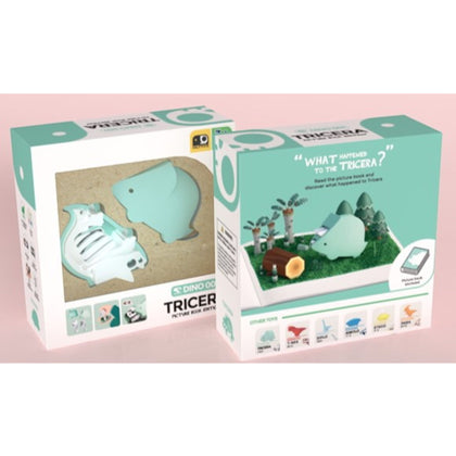 HALFTOYS® Tricera with Picture Book