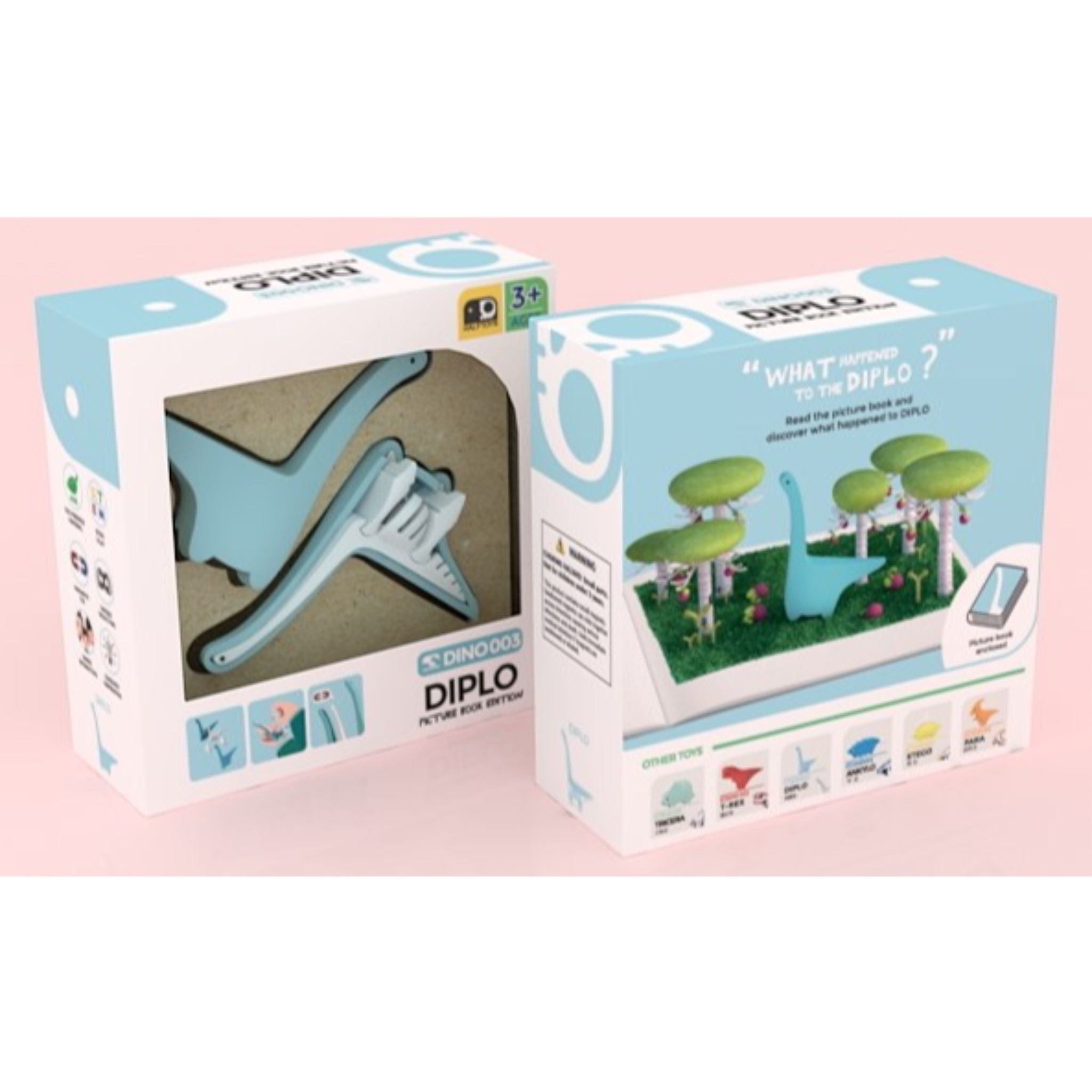 HALFTOYS® Diplo with Picture Book
