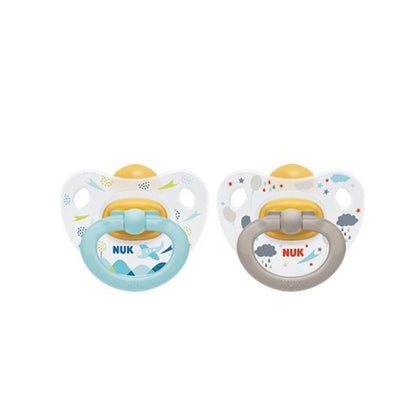 Nuk Happydays Silicone Soother (0-6M)