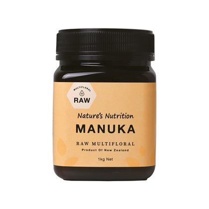 Nature's Nutrition Multifloral Manuka Honey 1KG