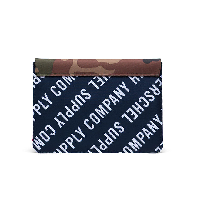 Herschel Spokane Sleeve for new 13 inch MacBook Roll Call Peacoat/Woodland Camo