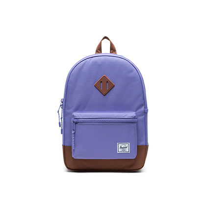 Herschel Heritage Youth Aster Purple/Saddle Brown